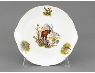 Тарелка для торта 27см Leander Мэри-Энн Охота декор 0363