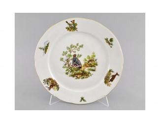 Блюдо круглое мелкое 30см Leander Мэри-Энн Охота, декор 0363