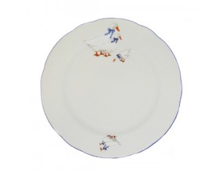 Блюдо круглое 30см Leander Мэри-Энн Гуси декор 0807
