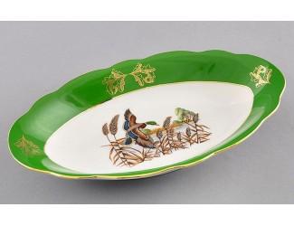 Блюдо овальное 23см Leander Мэри-Энн Царская охота декор 0763 03111726-0763
