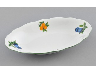 Блюдо овальное 23см Leander Мэри-Энн Фруктовый сад