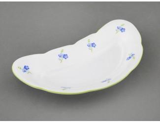 Блюдо для костей 18,5см Leander Мэри-Энн Синие цветы декор 0887
