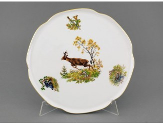 Тарелка для торта 28см Leander Мэри-Энн Охота декор 0363