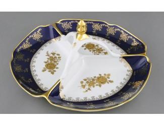 Менажница 29,5см Leander Мэри-Энн Золотая роза декор 0431 03116438-0431
