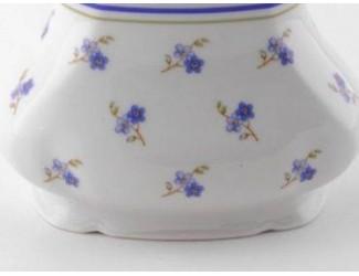 Ваза 19см большая Leander Мэри-Энн Синие цветы декор 0887