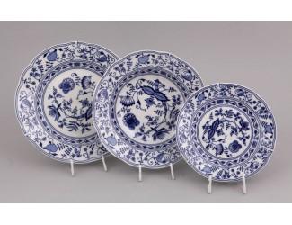 Набор тарелок 18 предметов Leander Мэри-Энн Гжель (Луковый рисунок) декор 0055