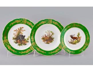 Набор тарелок 18 предметов Leander Мэри-Энн Царская охота декор 0763