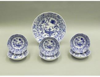 Набор салатников 7 предметов Leander Мэри-Энн Гжель (Луковый рисунок) декор 0055