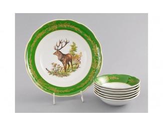 Набор салатников 7 предметов Leander Мэри-Энн Царская охота декор 0763 03161416-0763