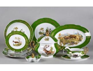 Сервиз столовый 25 предметов 6 персон Leander Мэри-Энн Царская охота 0763