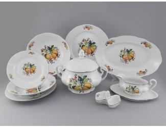 Сервиз столовый 25 предметов 6 персон Leander Мэри-Энн Абрикосы 2409