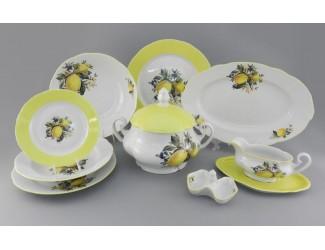 Сервиз столовый 25 предметов 6 персон Leander Мэри-Энн Лимоны декор 2411 03162011-2411