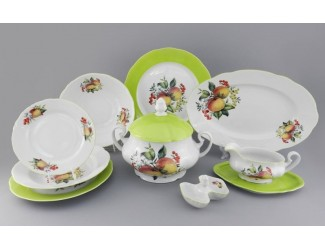 Сервиз столовый 25 предметов 6 персон Leander Мэри-Энн Спелые яблоки 2412 03162011-2412