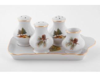 Набор для приправ 5 предметов Leander Мэри-Энн Охота декор 0363 03162513-0363