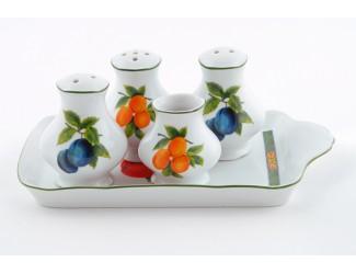 Набор для приправ 5 предметов Leander Мэри-Энн Фруктовый сад декор 080H