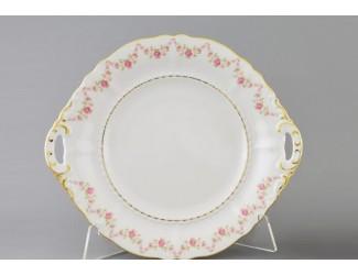 Тарелка для торта 27см Leander Сабина Мелкие цветы декор 0158