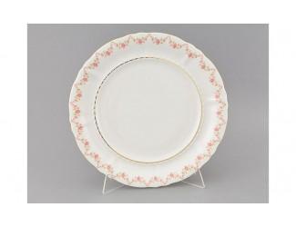 Блюдо круглое мелкое 32см Leander Соната Мелкие цветы декор 0158