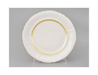 Блюдо круглое мелкое 32см Leander Соната Золотая лента декор 1239