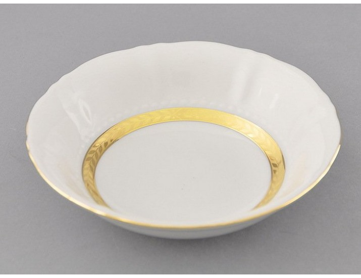 Салатник круглый 13,5см Leander Соната Золотая лента декор 1239