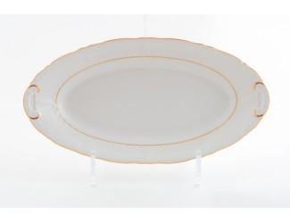 Блюдо овальное 55,5см Leander Соната Отводка золото декор 1139 07111518-1139