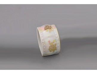 Кольцо для салфеток 1шт большое Leander Соната Мадонна перламутр, декор 0676