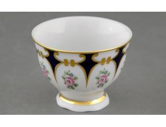 Ёмкость для джема и мёда 0,05л Leander Соната Розовый цветок кобальт декор 0419 07114912-0419