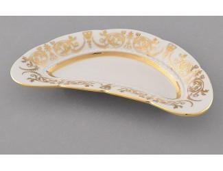 Блюдо для костей Leander 18,5 см Соната Золотой орнамент декор 1373