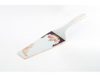 Лопатка для торта Leander Мэри-Энн Мелкие цветы (Кобальт) декор 0440
