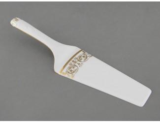 Лопатка для торта Leander Соната Золотой орнамент декор 1373