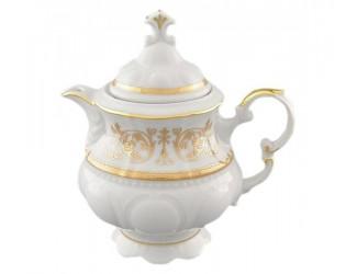 Чайник 0,35л Leander Соната Золотой орнамент декор 1373
