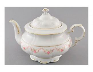 Чайник 1,50л Leander Соната Мелкие цветы декор 0158