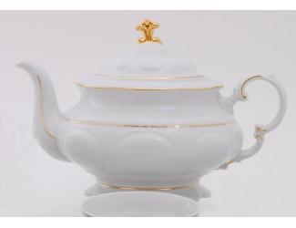 Чайник 1,50л Leander Соната Отводка золото декор 1139