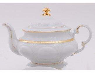 Чайник 1,50л Leander Соната Золотая лента декор 1239