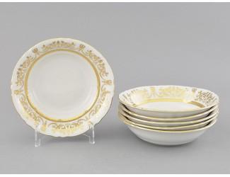 Набор салатников 16см 6шт Leander Соната Золотой орнамент декор 1373 07161413-1373