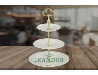 Горка 3 уровня Leander Соната Императорский декор 0000 07196032-0000