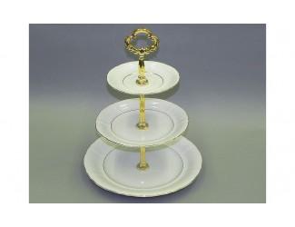 Горка 3 уровня Leander Соната Отводка золото декор 1139 07196032-1139