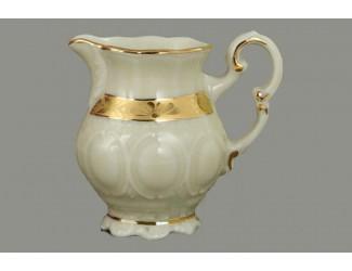 Молочник высокий 0,05л Leander Соната Золотая лента декор 1239