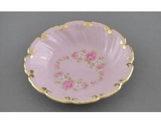 Розетка Leander 8см, розовый фарфор Мелкие цветы декор 0158