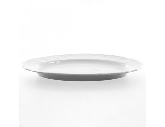 Блюдо овальное 36см Bernadotte Бернадот недекорированный 0000