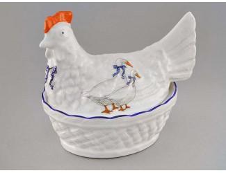 Конфетница курица Leander Мэри-Энн Гуси декор 0807