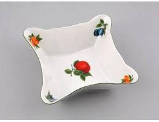 Салатник квадратный 14см Leander Мэри-Энн Фруктовый сад декор 080Н
