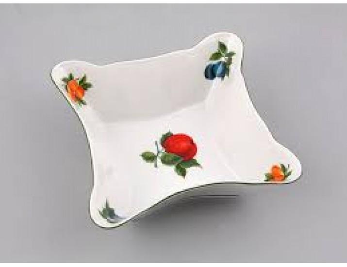 Салатник квадратный 17см Leander Мэри-Энн Фруктовый сад декор 080Н
