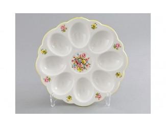 Подставка для яиц 19,5см Leander Мери-Энн Красна лента декор 0006 Бледные цветы
