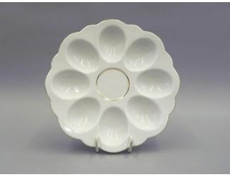 Поднос для яиц Leander Соната Отводка золото декор 1139