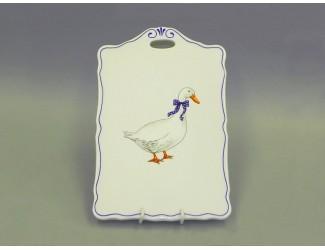 Дощечка с ручкой 27см Leander Мэри-Энн Гуси декор 0807 20117015-0807