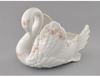 Лебедь-конфетница Leander Мелкие цветы декор 0158