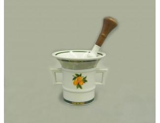 Ступка и пестик 0,22л Leander Мэри-Энн Фруктовый сад декор 080Н