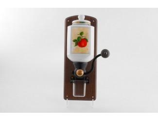 Мельница для кофе настенная Leander Мэри-Энн Фруктовый сад декор 080H