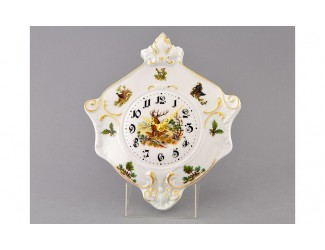 Часы настенные гербовые 27см Leander Мэри-Энн Охота декор 0363