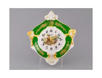 Часы настенные гербовые 27см Leander Мэри-Энн Царская охота, декор 0763